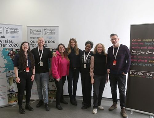 UNIVERSITY WELCOMES NORTH WALES PUPILS FOR CREATIVE WRITING WORKSHOP WITH KEY AUTHORS